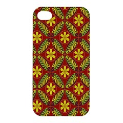 Beautiful Abstract Pattern Background Wallpaper Seamless Apple Iphone 4/4s Hardshell Case by Simbadda