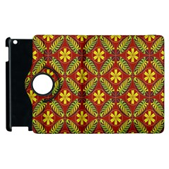 Beautiful Abstract Pattern Background Wallpaper Seamless Apple Ipad 3/4 Flip 360 Case by Simbadda