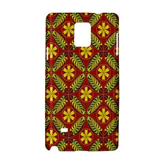 Beautiful Abstract Pattern Background Wallpaper Seamless Samsung Galaxy Note 4 Hardshell Case by Simbadda