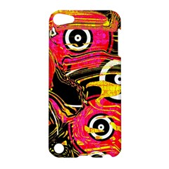 Abstract Clutter Pattern Baffled Field Apple Ipod Touch 5 Hardshell Case by Simbadda