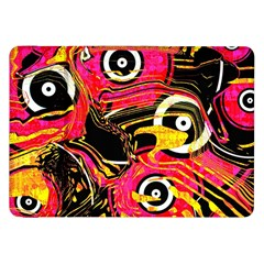 Abstract Clutter Pattern Baffled Field Samsung Galaxy Tab 8 9  P7300 Flip Case by Simbadda