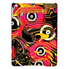 Abstract Clutter Pattern Baffled Field Ipad Air Hardshell Cases by Simbadda