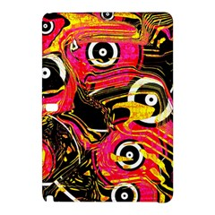 Abstract Clutter Pattern Baffled Field Samsung Galaxy Tab Pro 12 2 Hardshell Case by Simbadda