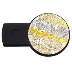 Abstract Composition Pattern Usb Flash Drive Round (2 Gb) by Simbadda