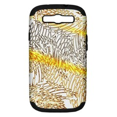 Abstract Composition Pattern Samsung Galaxy S Iii Hardshell Case (pc+silicone) by Simbadda