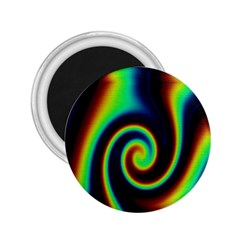 Background Colorful Vortex In Structure 2.25  Magnets