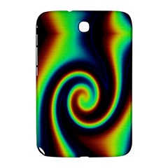 Background Colorful Vortex In Structure Samsung Galaxy Note 8 0 N5100 Hardshell Case  by Simbadda