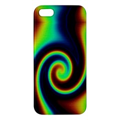 Background Colorful Vortex In Structure Iphone 5s/ Se Premium Hardshell Case by Simbadda