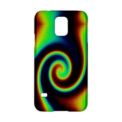 Background Colorful Vortex In Structure Samsung Galaxy S5 Hardshell Case  by Simbadda