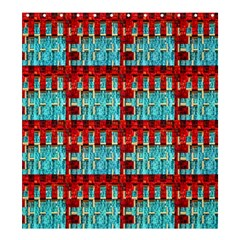 Architectural Abstract Pattern Shower Curtain 66  X 72  (large)  by Simbadda