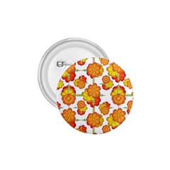 Colorful Stylized Floral Pattern 1 75  Buttons by dflcprints