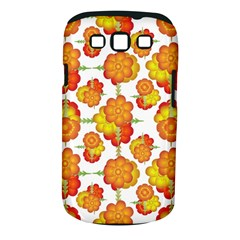 Colorful Stylized Floral Pattern Samsung Galaxy S Iii Classic Hardshell Case (pc+silicone) by dflcprints