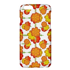 Colorful Stylized Floral Pattern Apple Iphone 6 Plus/6s Plus Hardshell Case by dflcprints