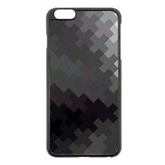 Abstract Pattern Moving Transverse Apple Iphone 6 Plus/6s Plus Black Enamel Case by Simbadda