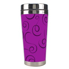 Pattern Stainless Steel Travel Tumblers by Valentinaart
