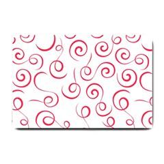 Pattern Small Doormat  by Valentinaart