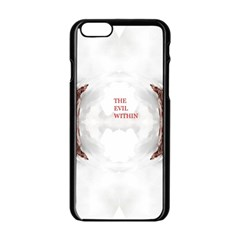 The Evil Within Demon 3d Effect Apple Iphone 6/6s Black Enamel Case by 3Dbjvprojats