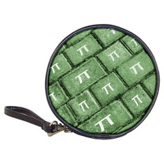 Pi Grunge Style Pattern Classic 20 Cd Wallets by dflcprints
