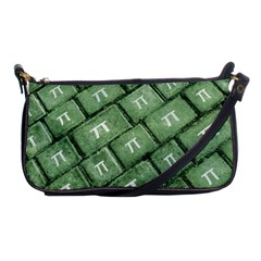 Pi Grunge Style Pattern Shoulder Clutch Bags by dflcprints