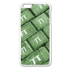 Pi Grunge Style Pattern Apple Iphone 6 Plus/6s Plus Enamel White Case by dflcprints