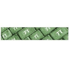 Pi Grunge Style Pattern Flano Scarf (large)  by dflcprints
