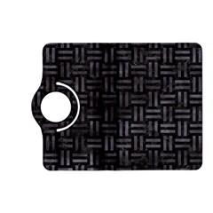 Woven1 Black Marble & Black Watercolor Kindle Fire Hd (2013) Flip 360 Case by trendistuff
