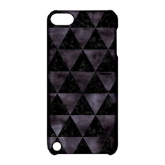 Triangle3 Black Marble & Black Watercolor Apple Ipod Touch 5 Hardshell Case With Stand by trendistuff