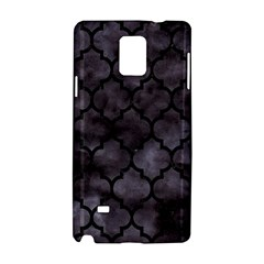 Tile1 Black Marble & Black Watercolor (r) Samsung Galaxy Note 4 Hardshell Case by trendistuff
