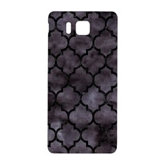 Tile1 Black Marble & Black Watercolor (r) Samsung Galaxy Alpha Hardshell Back Case by trendistuff