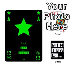 Minimaldeck2 By Frollo   Playing Cards 54 Designs   Dddvomk1la2w   Www Artscow Com Front - Spade3