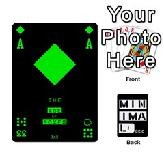 Minimaldeck2 By Frollo   Playing Cards 54 Designs   Dddvomk1la2w   Www Artscow Com Front - Heart7