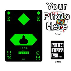 Minimaldeck2 By Frollo   Playing Cards 54 Designs   Dddvomk1la2w   Www Artscow Com Front - Heart8