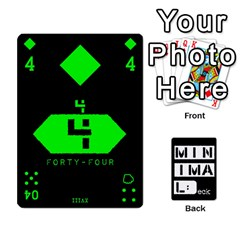 Minimaldeck2 By Frollo   Playing Cards 54 Designs   Dddvomk1la2w   Www Artscow Com Front - Diamond7