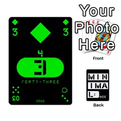 Minimaldeck2 By Frollo   Playing Cards 54 Designs   Dddvomk1la2w   Www Artscow Com Front - Diamond8