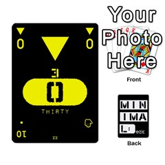 Minimaldeck2 By Frollo   Playing Cards 54 Designs   Dddvomk1la2w   Www Artscow Com Front - Club8