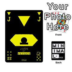 Minimaldeck2 By Frollo   Playing Cards 54 Designs   Dddvomk1la2w   Www Artscow Com Front - Club10