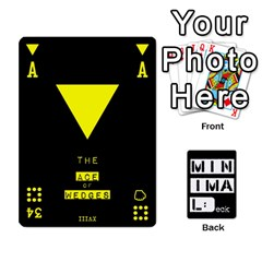 Minimaldeck2 By Frollo   Playing Cards 54 Designs   Dddvomk1la2w   Www Artscow Com Front - Joker2