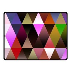 Triangles Abstract Triangle Background Pattern Fleece Blanket (small) by Simbadda