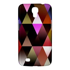 Triangles Abstract Triangle Background Pattern Samsung Galaxy Mega 6 3  I9200 Hardshell Case by Simbadda