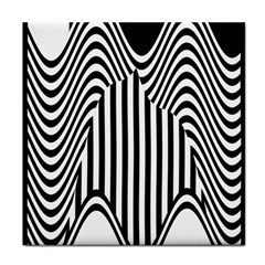 Stripe Abstract Stripped Geometric Background Tile Coasters