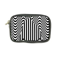 Stripe Abstract Stripped Geometric Background Coin Purse by Simbadda