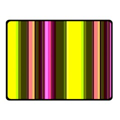 Stripes Abstract Background Pattern Fleece Blanket (small) by Simbadda