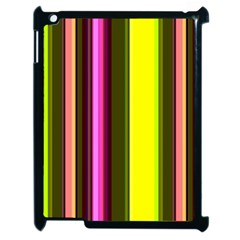 Stripes Abstract Background Pattern Apple Ipad 2 Case (black) by Simbadda