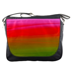 Watercolour Abstract Paint Digitally Painted Background Texture Messenger Bags by Simbadda