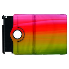 Watercolour Abstract Paint Digitally Painted Background Texture Apple Ipad 3/4 Flip 360 Case by Simbadda