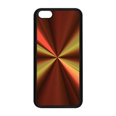 Copper Beams Abstract Background Pattern Apple Iphone 5c Seamless Case (black) by Simbadda