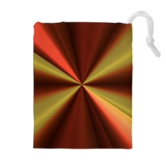 Copper Beams Abstract Background Pattern Drawstring Pouches (extra Large)
