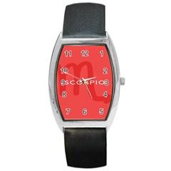 Zodiac Scorpio Barrel Style Metal Watch by Mariart
