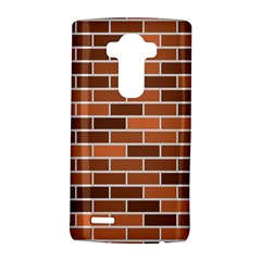 Brick Brown Line Texture Lg G4 Hardshell Case by Mariart
