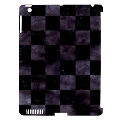 Square1 Black Marble & Black Watercolor Apple Ipad 3/4 Hardshell Case (compatible With Smart Cover) by trendistuff